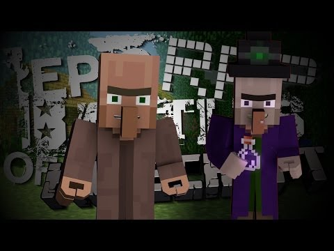 Witch vs Villager. Epic Rap Battles of Minecraft Season 2. (