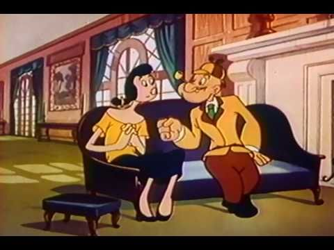 Private Eye Popeye (1954) -ehPRG8OU0y8