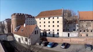 SCENES nikogroup Dron nad Toruniem Ruiny Zamku Krzyżackiego