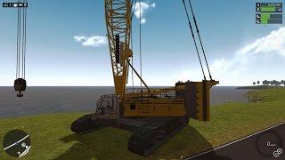 getlinkyoutube.com-Construction-Simulator 2015 - Liebherr LR 1300 Crawler Crane DLC