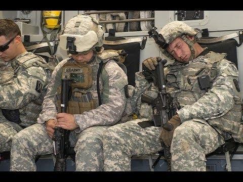 Cara Tidur Cepat Tentara Amerika