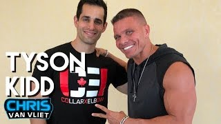 Tyson Kidd describes his career ending injury, his new WWE role, Natalya, Total Divas width=