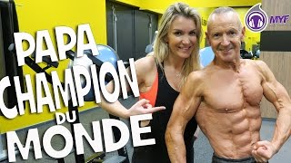 getlinkyoutube.com-vlog - PAPA CHAMPION DU MONDE + Mon WE - Jessica Mellet