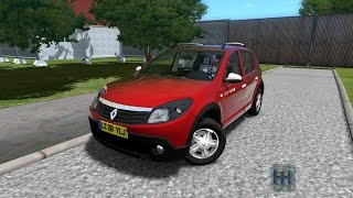getlinkyoutube.com-Renault Dacia Sandero City Car Driving Simulator 1.3.3  [DOWNLOAD LINK]