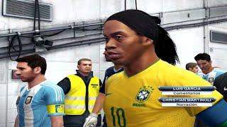 getlinkyoutube.com-PES 2013 -Brasil vs Argentina- Relatos Latinos (HD)