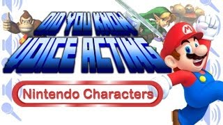 getlinkyoutube.com-Nintendo Characters - Did You Know Voice Acting?