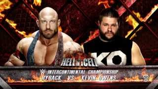 WWE 2K16: Hell In The Cell 2015 Predictions - Kevin Owens Vs Ryback (Full Match)
