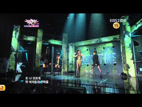 【1080P】Jewelry - Rhythm HA!!! & Look At Me@Comeback Stage (12 Oct,2012)