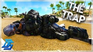 HOW TO KILL A BATTLE QUETZ , THE TRAP !! -  Ark Survival Evolved - Part 23 (Volcano PvP)