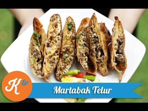Resep Martabak Telur (Martabak Telur Recipe Video)