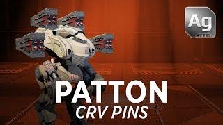 getlinkyoutube.com-Walking War Robots Patton Gameplay: CRV Pins