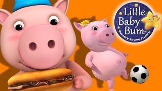 getlinkyoutube.com-This Little Piggy   Nursery Rhymes   by LittleBabyBum!