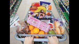 getlinkyoutube.com-США. Супермаркет, цены на основные продукты (молоко, мясо, овощи...)