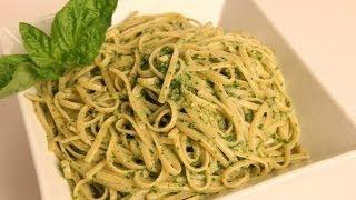 getlinkyoutube.com-Linguine with Pesto Recipe - Laura Vitale - Laura in the Kitchen Episode 346