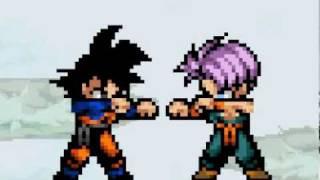 getlinkyoutube.com-Goku Trains With Goten & Trunks
