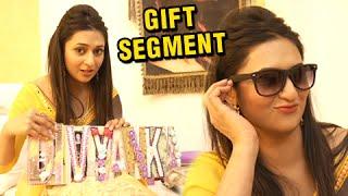 getlinkyoutube.com-Gift Segment : Divyanka Tripathi Overwhelmed By The Gifts From Her Fans