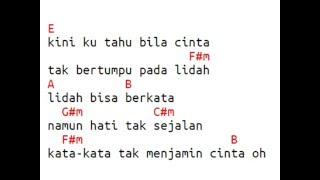 getlinkyoutube.com-Chord & Lirik Maudy Ayunda Untuk Apa