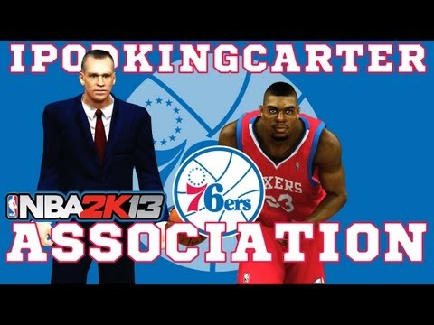 NBA 2K13 Association: Philadelphia 76ers - Ep. 1 | Big Moves During Offseason & Pre-Draft Workouts