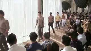Corneliani Men's Spring/Summer 2014 Full Fashion Show.