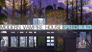 getlinkyoutube.com-The Sims 4 Speed Build - MODERN VAMPIRE HOUSE