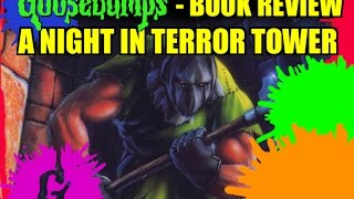 getlinkyoutube.com-Goosebumps Book Review - A Night In Terror Tower!