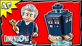 getlinkyoutube.com-Lego Dimensions DOCTOR WHO Level Pack 3-in-1 Build Review 71204