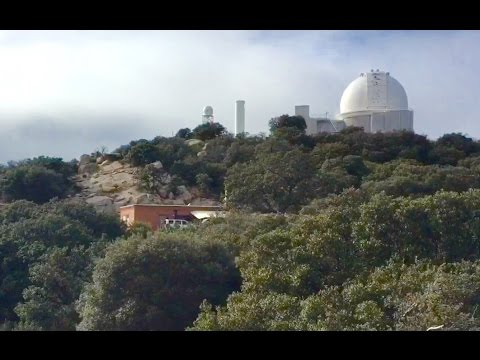 Kitt Peak National Observatory near Tucson, Arizona