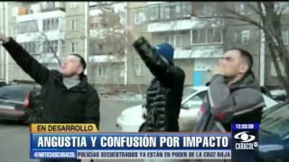 getlinkyoutube.com-Vea cómo cayó el meteorito en Rusia. Hubo angustia y confusión - 14 de febrero de 2013