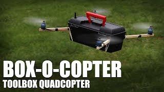 getlinkyoutube.com-Flite Test - Box-O-Copter (toolbox quadcopter)