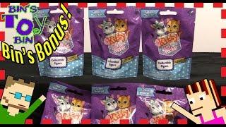 getlinkyoutube.com-BIN'S BONUS - Kitty In My Pocket Blind Bags! Opening by Bin's Toy Bin
