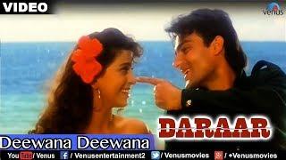 Deewana Deewana Full Video Song : Daraar | Rishi Kapoor, Juhi Chawla, Arbaaz Khan |
