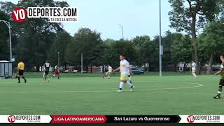 San Lazaro vs. Guerrerense Liga Latinoamericana Sabado
