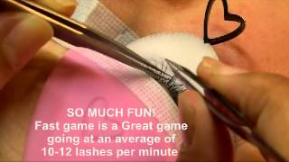 getlinkyoutube.com-THE FASTEST METHOD OF individual semi permanant eyelash extensions on EARTH!!!! VC LASH TOOLSET