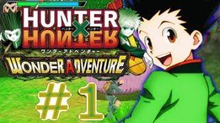 Let's Walkthrough Hunter X Hunter Wonder Adventure - Part 1 - Gon Freecss Abenteuer