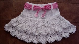 getlinkyoutube.com-CROCHET SKIRT