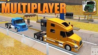 Grand Truck Simulator - Testando Pedágios no Modo Multiplayer
