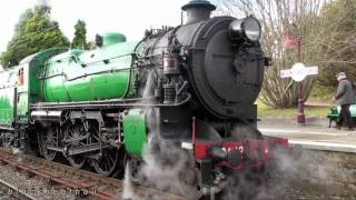 getlinkyoutube.com-Blue Mountains Flyer 3642 Steam Locomotive