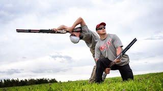 getlinkyoutube.com-Shotgun Trick Shots: What's Your Favorite Position Edition