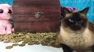 getlinkyoutube.com-Shopkins Surprise Egg MH Vinyl Unicornos Frozen WWE Dog Tags Blind Bag Treasure Chest Unboxing