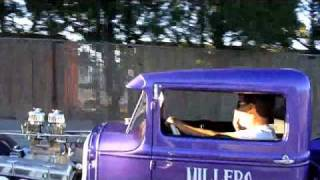 getlinkyoutube.com-Millers Chop Shop, 31 Ford Model A Truck On The Road