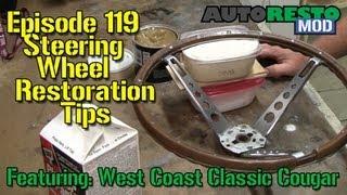 getlinkyoutube.com-Steering Wheel Restoration Tips Episode 119 Autorestomod
