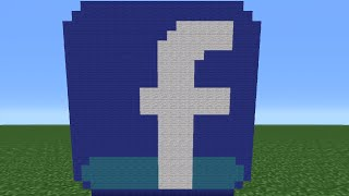 getlinkyoutube.com-Minecraft Tutorial: How To Make The Facebook Logo