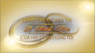 getlinkyoutube.com-Mẫu Đầu Băng Lễ Cưới HD Hoàn Thành 1