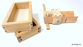 getlinkyoutube.com-Easy to Make Jig and How to Build Boxes with Decorative Splines