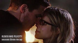 getlinkyoutube.com-Oliver and Felicity | Season Three Recap
