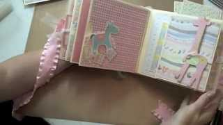"""6x6 Baby Album featuring K&Co """"Itsy Bitsy"""""""