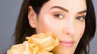 Spring Bling!  Coral Glow Makeup Tutorial - using new favourite products