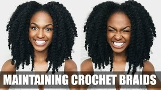 How To Care For Your Crochet Braids