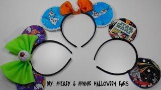 getlinkyoutube.com-DIY:Mickey Mouse Ears Halloween Costume