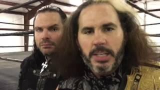 Los hermanos Hardy envían un mensaje a Ring Of Honor